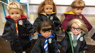 Harry Potter Inspired American Girl Dolls