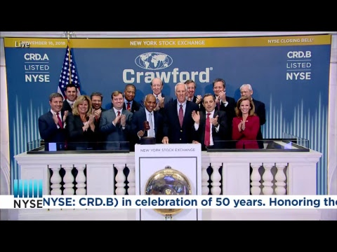 Crawford & Company (NYSE: CRD.A and NYSE: CRD.B) in celebration of 50 years #Crawford #RESTORE