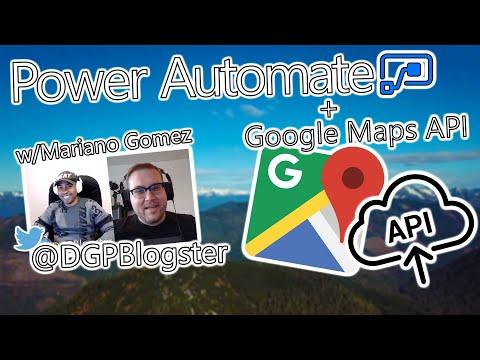 Microsoft Power Automate Tutorial - Google Maps API thumbnail