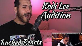 Coach Reaction - Kodi Lee - Audition