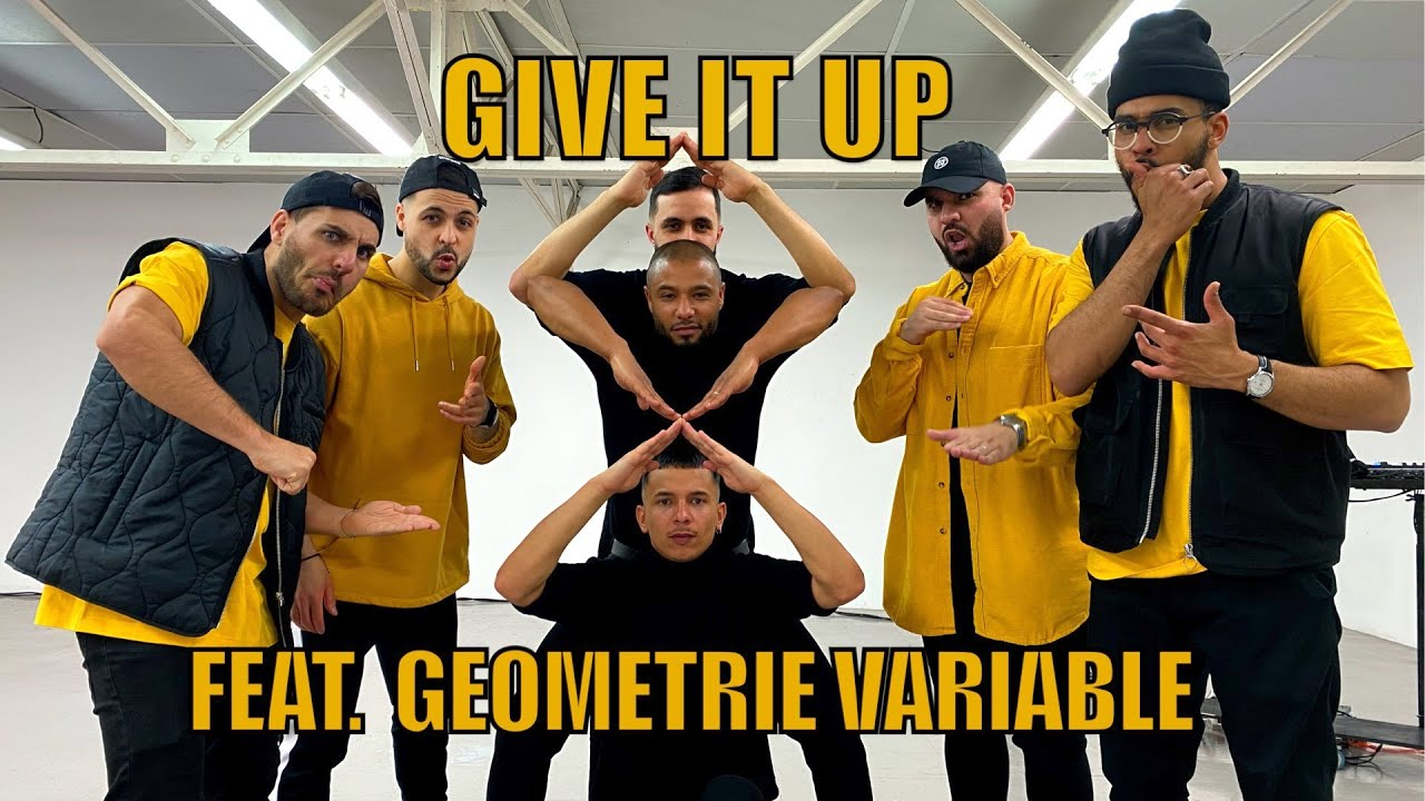 Berywam - Give It Up (Live Version) Feat @Geometrie Variable