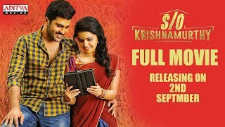 S/O Krishnamurthy Full Movie on 2nd Septmber || #AdityaMovies