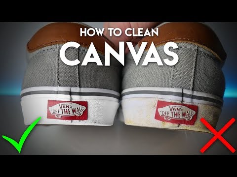 How To Clean Canvas | Sneaker Cleaning Guide