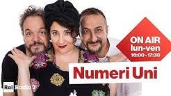 Numeri Uni Radio2: Nuzzo - Di Biase - Casciari | Diretta del 29/04/2020