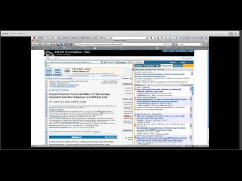 The Swan Annotation Tool and Annotation Ontology