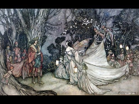 Arthur Rackham's Illustrations of European Fairy Tales and Folklore