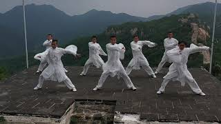 The JCST – LongYun Kung Fu Troupe at The Great Wall