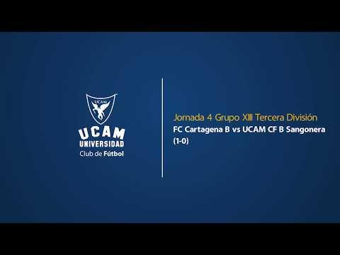 Resumen del filial: FC Cartagena - UCAM Murcia (1-0)