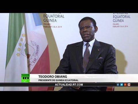 Entrevista con Teodoro Obiang Nguema, presidente de Guinea Ecuatorial