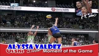 ウィングスパイカー Alyssa Valdez season MVP | congratulations champions! 😄