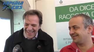 Raccolta differenziata, inaugurato l'infopoint di Irpiniambiente. Intervista a Nicola Boccalone
