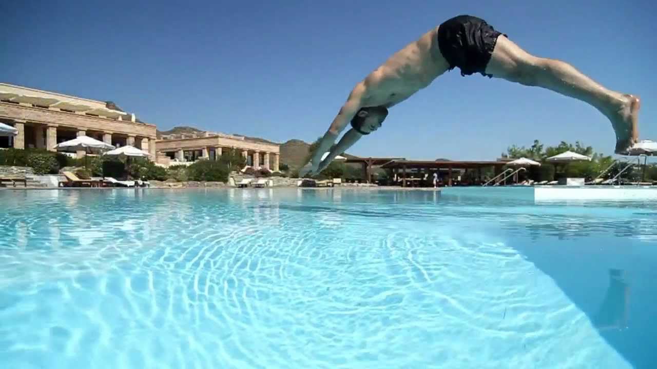 grecotel cape sounio luxury beach hotel with swimming pools in athens greece youtube