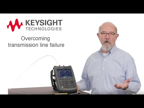 Distance to Fault and Time Domain Reflectometry with FieldFox   Keysight