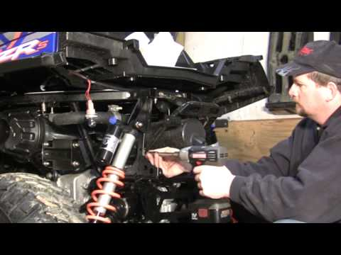 A quick look at the Racer Tech lift install on my RZR.