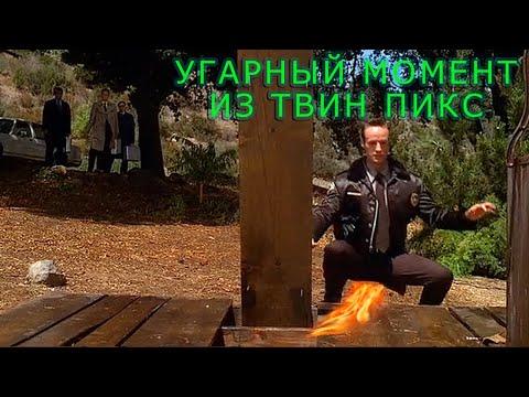 Угарный момент из сериала Твин Пикс (2 сезон, 1 серия)