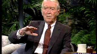 Jimmy Stewart is Delightfully Funny, FULL Interview on Johnny Carson's Tonight Show 1989