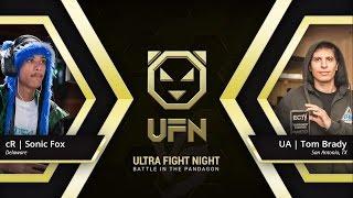 UFN / KIT 2016 - UA | Tom Brady (Sub Zero) vs cR | Sonic Fox (Sub Zero / Cassie) MKX