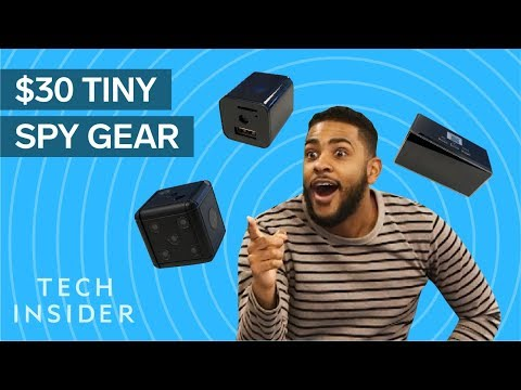 We Tested $30 Tiny Spy Cameras From Amazon