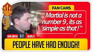 ADAM! SIGN CAVANI NOW! Manchester United 0-2 Burnley FanCam