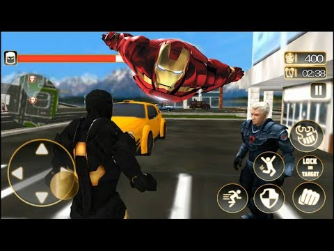 Ultimate KungFu Superhero Iron Fighting Free Game | Iron Hero Survival | Android GamePlay Video
