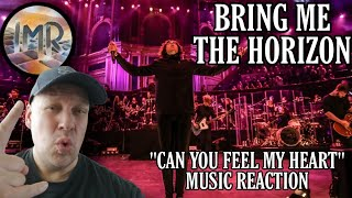 Bring Me The Horizon Reaction - Can You Feel My Heart (Live Albert Hall) | First Time Reaction