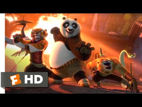 Kung Fu Panda 2 2011 Opening Battle Scene 1 10 Movieclips Youtube