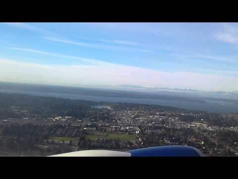 Takeoff from Seattle-Tacoma International Airport