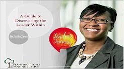 "Webinar by Artika Tyner, Ph.D. ""Leading for Change"""