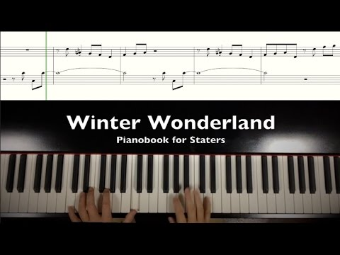 """ Winter Wonderland""  Christmas jazz piano"
