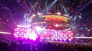 WM 34 Kurt Angle and Ronda Rousey Entrance