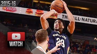 Anthony Davis Full Highlights at Suns (2015.11.25) - 26 Pts, 17 Reb, CLUTCH!