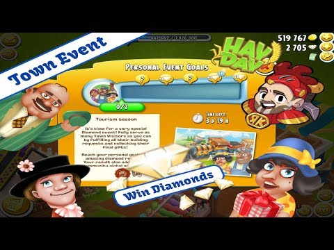 Hay Day Live Stream - Win Hay Day Diamonds, Town Event