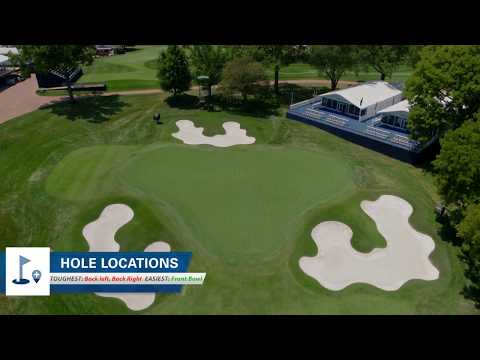 DRONE FLYOVER TOUR: Bellerive County Club, host of 2018 PGA Championship