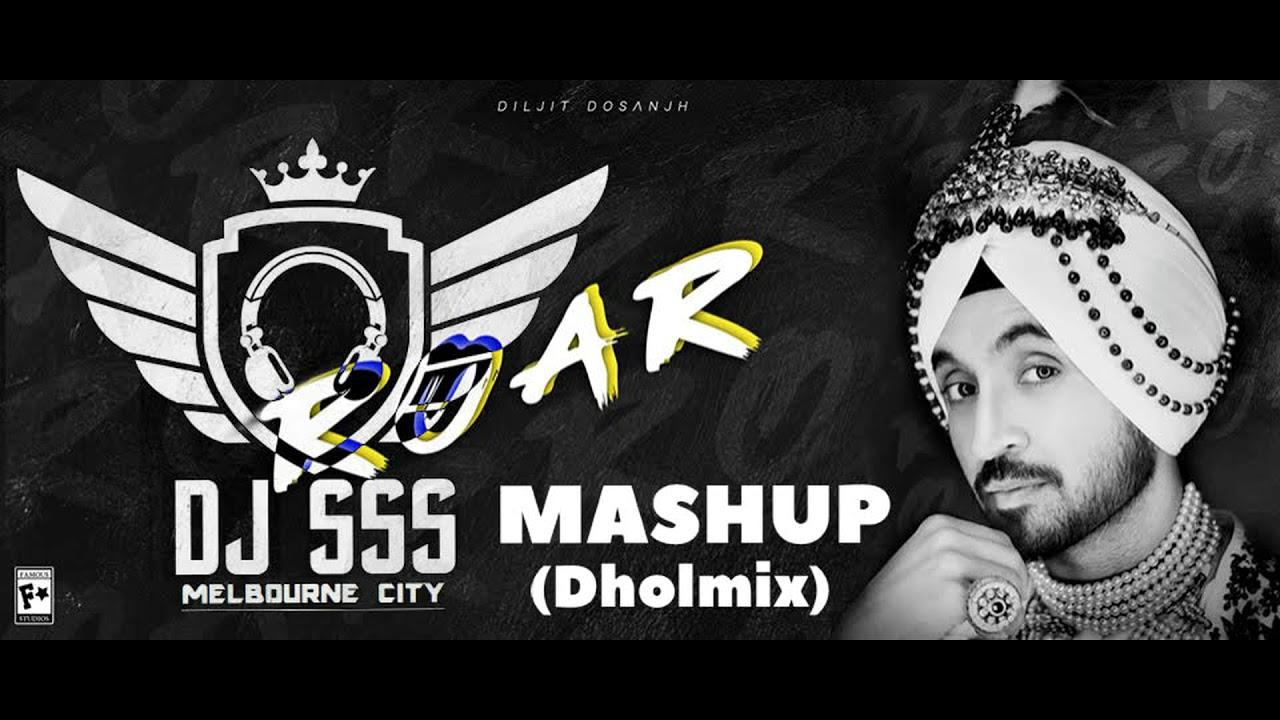 DJ SSS  - Roar Mashup -  Diljit Dosanjh