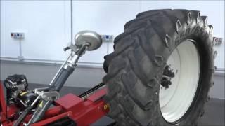M&B Dido XXL-L - montaż / demontaż dużych kół rolniczych