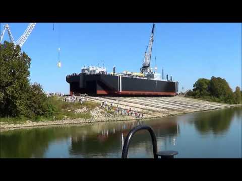 80,000 BBL Clean Tanker, CORN ISLAND SHIPYARD LAUNCH