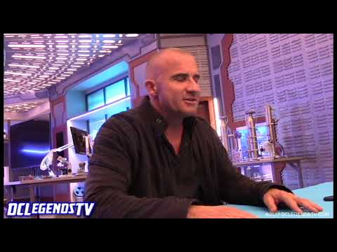 JOHN CONSTANTINE on Legends of Tomorrow | Dominic Purcell Interview