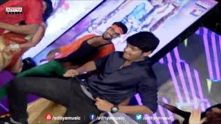 Aakash Puri, Ulka Gupta Dance Performance At Andhra Pori Audio Launch