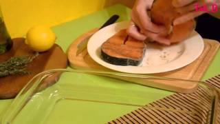 Правильное Питание Рецепты  Как приготовить стейк лосося сочным