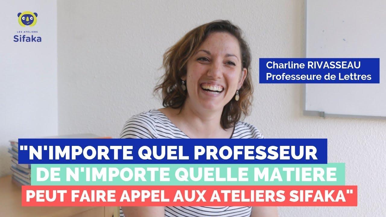Interview Sifaka : Mme Rivasseau - Professeure de Lettres