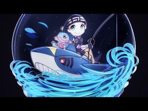 【Speedpaint】Underwater Globe | Commission【Paint Tool SAI】(Yitsune Melody #74)