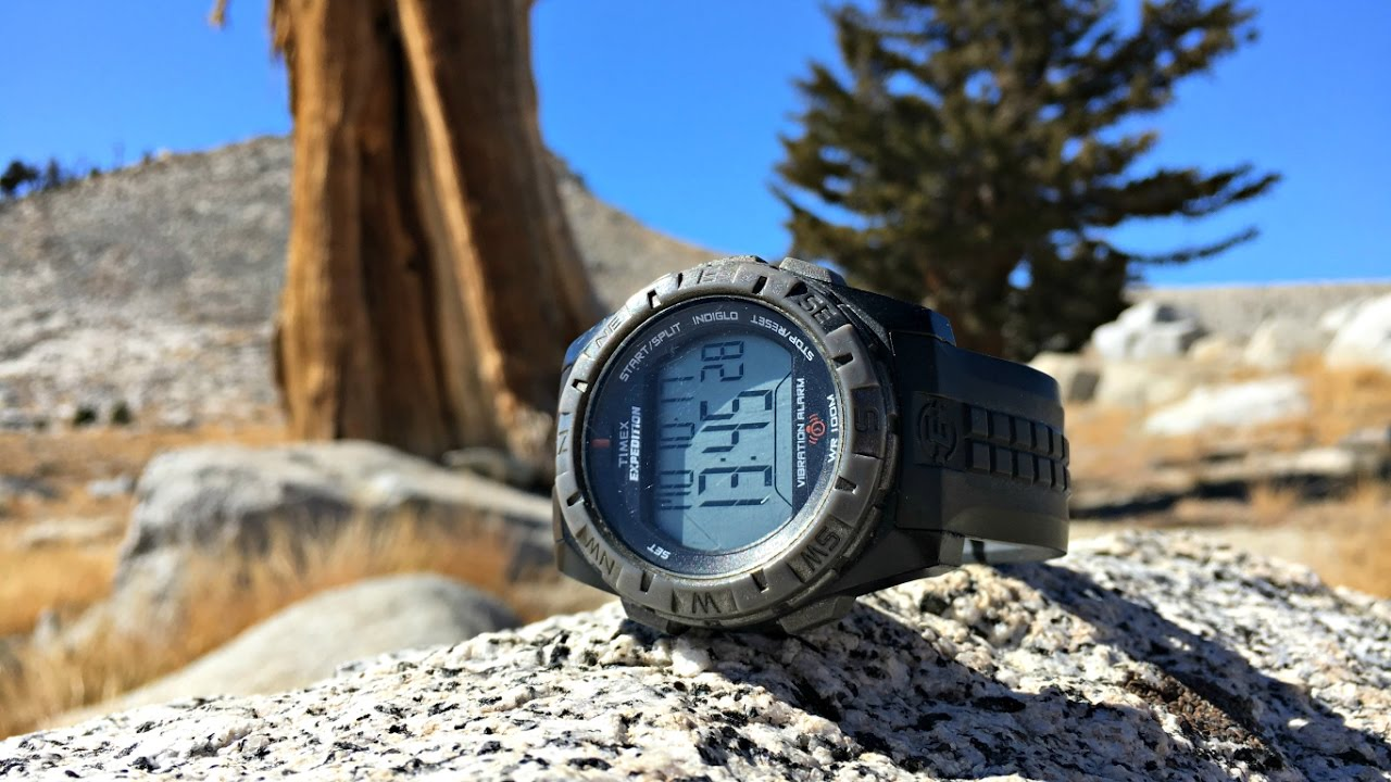 e7bd6e94a7ca Timex Expedition Vibration Alarm Watch - YouTube
