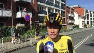 Jonas Vingegaard efter DM 2019