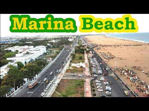 Places to visit in Marina Beach Chennai   Tamil Nadu   India