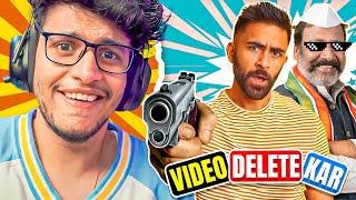 jaan ki dhamki    threatened to delete my video   the truth revealed  omg