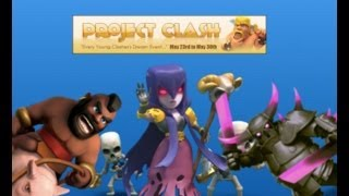 Live from Project Clash the under 18s forum event in Clash of Clans