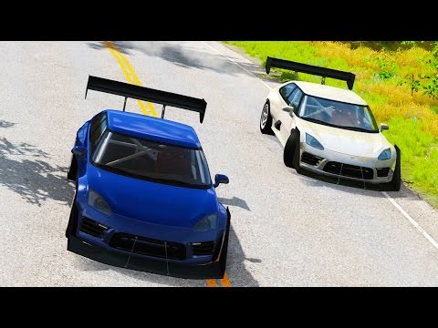SUPER HIGH SPEED CHASES! - BeamNG Drive Chase and Pursuit Scenario Pack