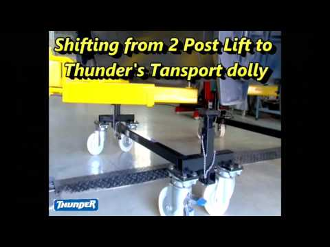 ACCESSORIES FOR 2 POSE LIFT TO HANDLE IMMOBILE/DAMAGED VEHICLES