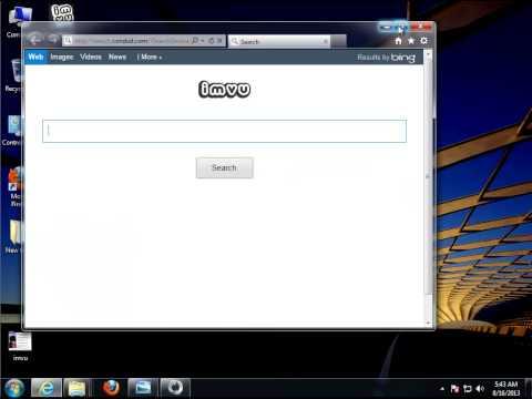 Uninstall IMVU Avatar Chat Software - Remove Toolbar