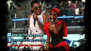 Vybz Kartel Ft. Gaza Slim - Cant Do Without Me [Wild Bubble Riddim] August 2012
